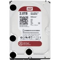 Disque Dur Western Digital 2 To RED Desktop - WD20EFRX (Sata3/64M)