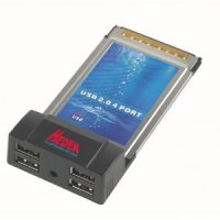 Carte PCMCIA Heden 4 sortie USB 2 (Destockage) Gar 1 an