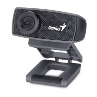 Genius Webcam FaceCam 1000X V2 (1.3M/720p/Clip,Logiciel Crazy Talk Pro)