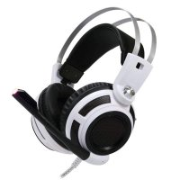 Casque Micro OMEGA Varr OVH 4050 Gamer Noir/Blanc (cable 1.8m)