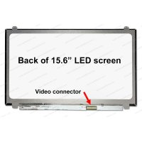 Dalle 15.6 LED - Slim 40p - 1920x1080 - Conn Droit - Brillant (N156HGE-LA1)