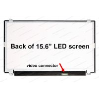 Dalle 15.6 LED - Slim EDP 30p - 1366x768 - Conn Droit - Brillant (N156BGA-EB2)