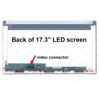 Dalle 17,3 LED - 40 pins 25mm-1600x900-Conn.Gauche-Brillant (N173FGE-L23)