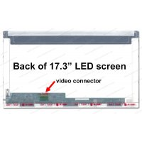 Dalle 17,3 LED - EDP 30 pins-1600x900-Conn.Gauche-Brillant (N173FGE-E23)