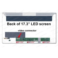 Dalle 17,3 LED - 40 pins-1920x1080-Conn.Gauche-Mat (B173HW02)